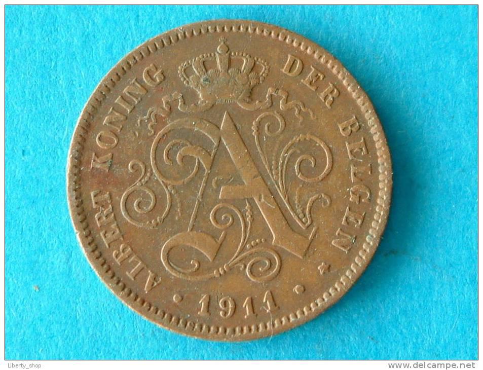 1911 VL - 2 CENTIEM - ZF ! - 1909-1934: Albert I