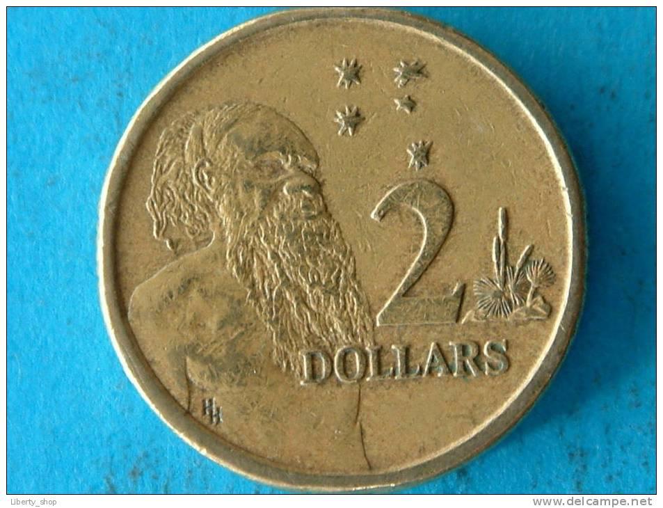 1988 - 2 DOLLARS / KM 101 - VF ! - Australie