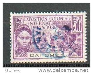 DAH 154 - YT 100 Obli - Dahome (1899-1944)