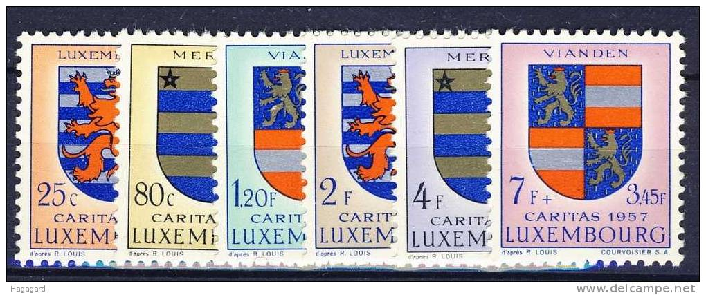 #1957. Luxembourg. Coat Of Arms II. MNH** - Timbres