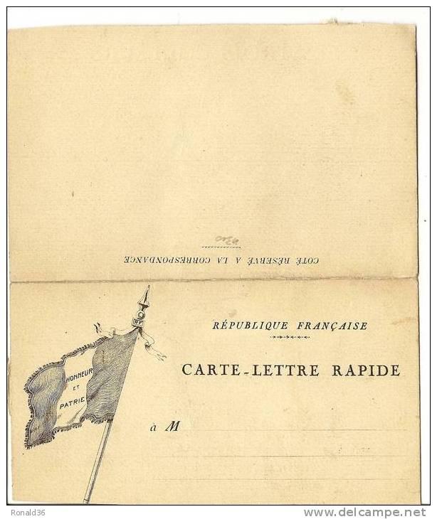 Honneur Et Patrie , Les Trois Couleurs  De René BRANCOUR ( Louis MATRUCHOT Président Aide Moral) Argonne Aux Cévennes - Patriottisch