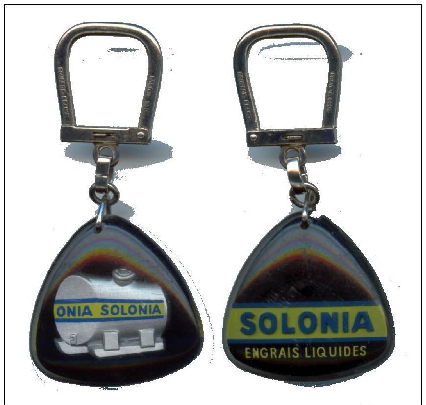 PC Bourbon Solonia Engrais Liquides - Porte-clefs