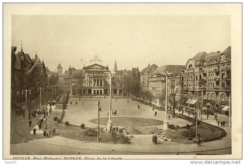 Pologne - Poznan - Place De La Liberté - Pologne