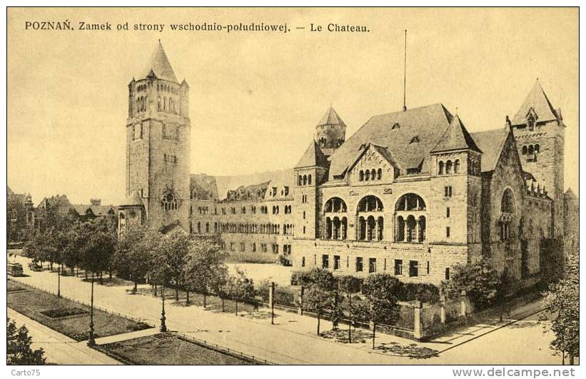 Pologne - Poznan - Château - Pologne
