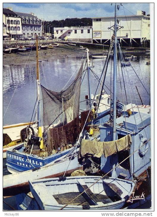 """La Trinité Sur Mer--Un Coin Du Port (bateau De Peche """"Patrick Gille """" Auray ),cm N°611 éd Jack---jolie Carte-- - La Trinite Sur Mer"""