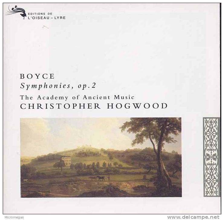 Boyce : Symphonies Op.2, Hogwood - Klassik