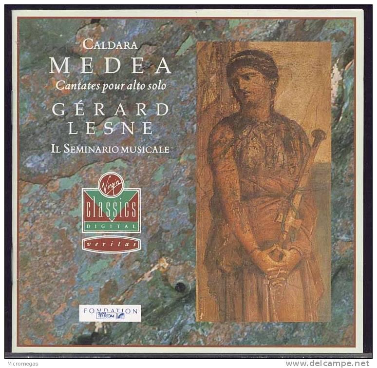 Caldara : Medea, Gérard Lesne - Classique