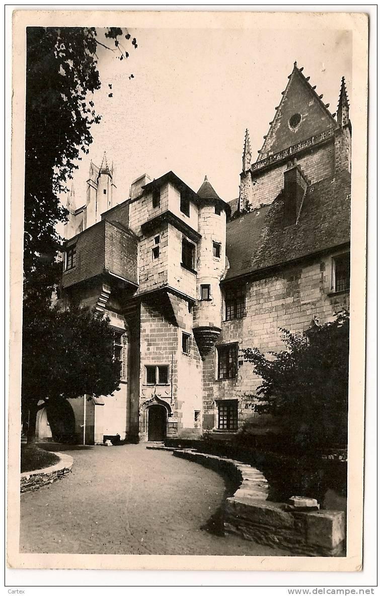 Cpsm NANTES : La Psalette Pres De La Cathédrale 1939/42 - Nantes