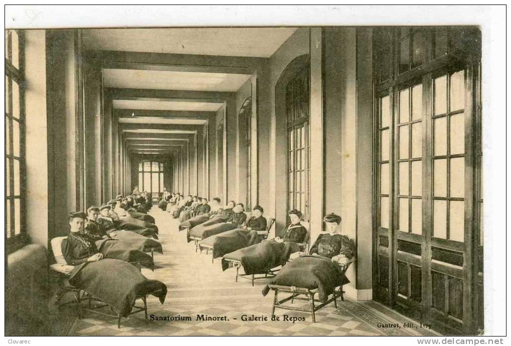 MINORET (canton De Draveil)  Sanatorium   Galerie De Repos - France