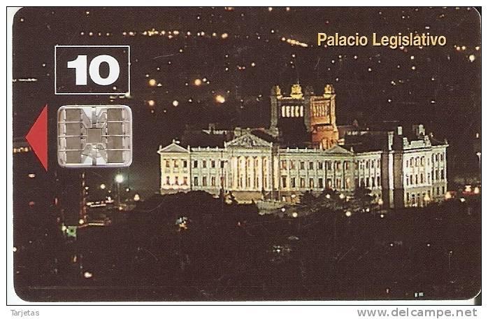 011 TARJETA DE URUGUAY  DEL PALACIO LEGISLATIVO - Uruguay