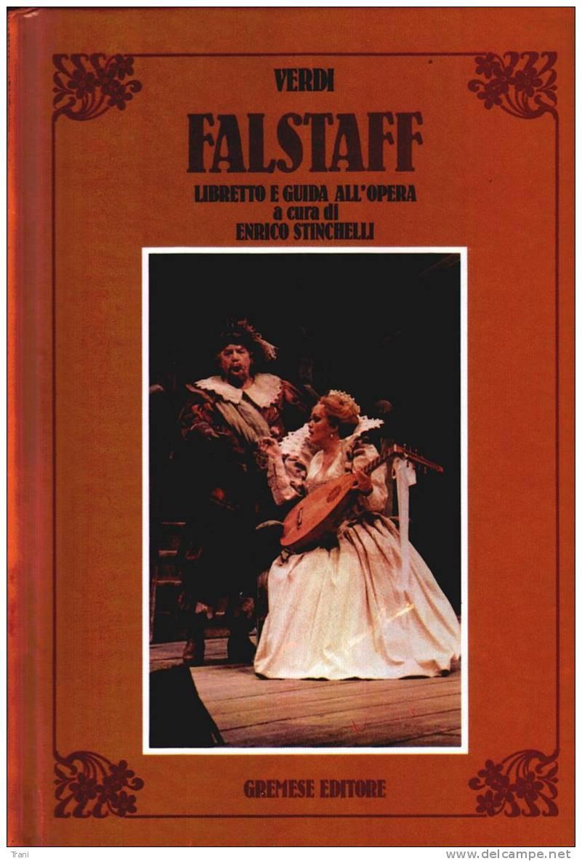 FALSTAFF - Operaboeken