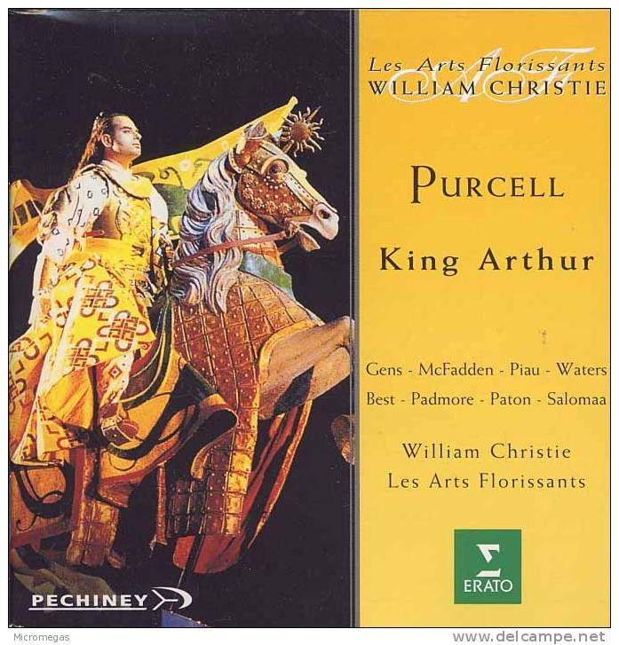 Purcell : King Arthur, Christie - Oper & Operette