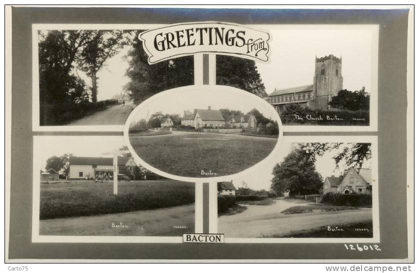 Royaume Uni - Greetings From Bacton - Non Classés