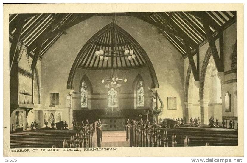 Royaume-Uni - Framlingham - College Chapel - Non Classés