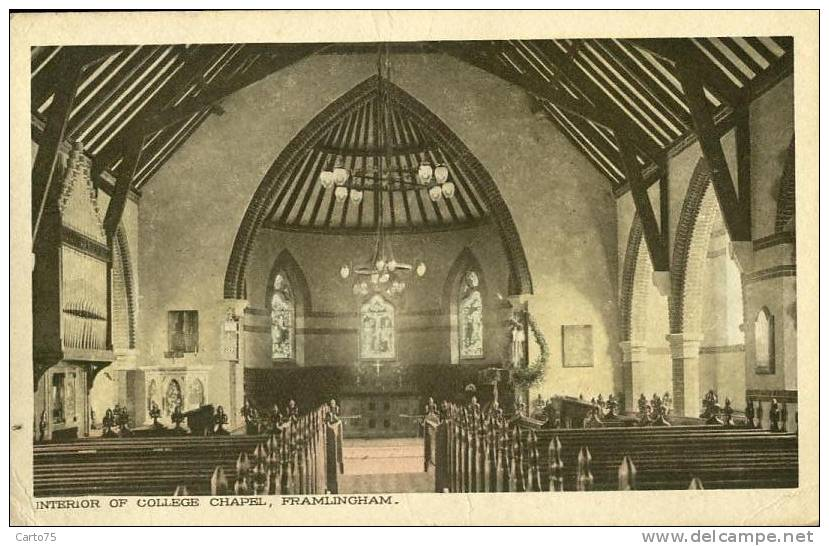Royaume-Uni - Framlingham - College Chapel - Angleterre