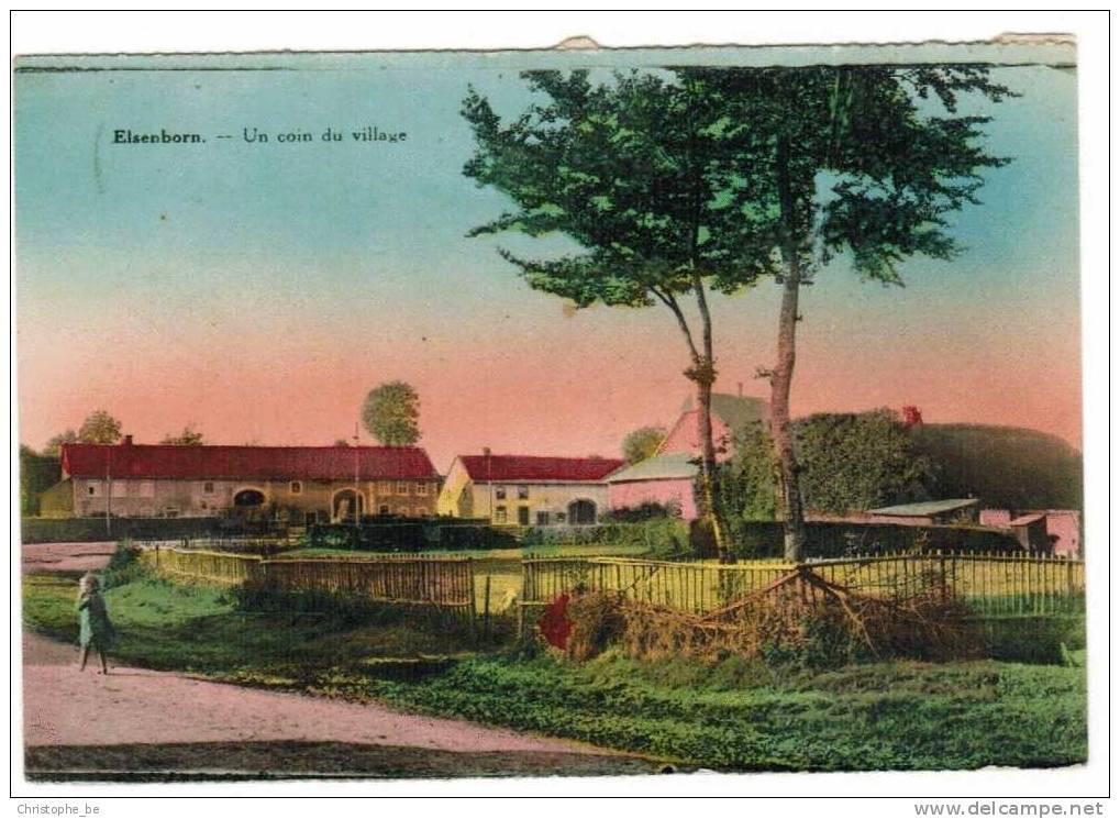 Oude Postkaart Elsenborn Un Coin Du Village (pk540) - Elsenborn (camp)