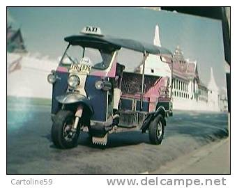 TAXI THAILAND TRE RUOTE 3  N1987 BW26658 - Taxi & Carrozzelle