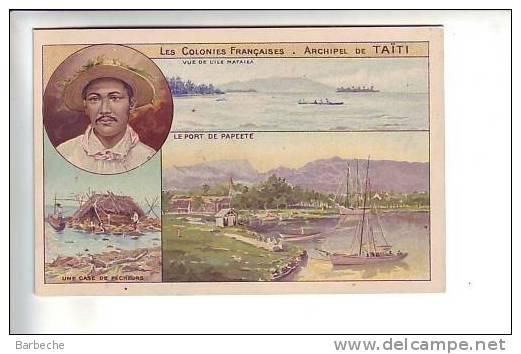 Les Colonies Françaises .- Archipel De  TAÏTI      1338 - Tahiti