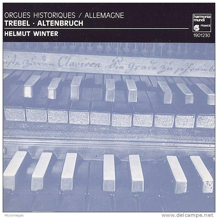 Orgues Historiques D'Allemagne, Helmut Winter - Classique