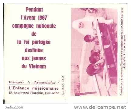 Calendriers De Poche 1968 - Calendriers
