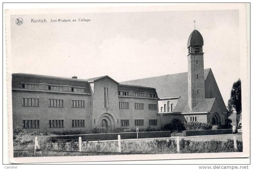 KONTICH- SINT- RITAKERK EN COLLEGE - Kontich