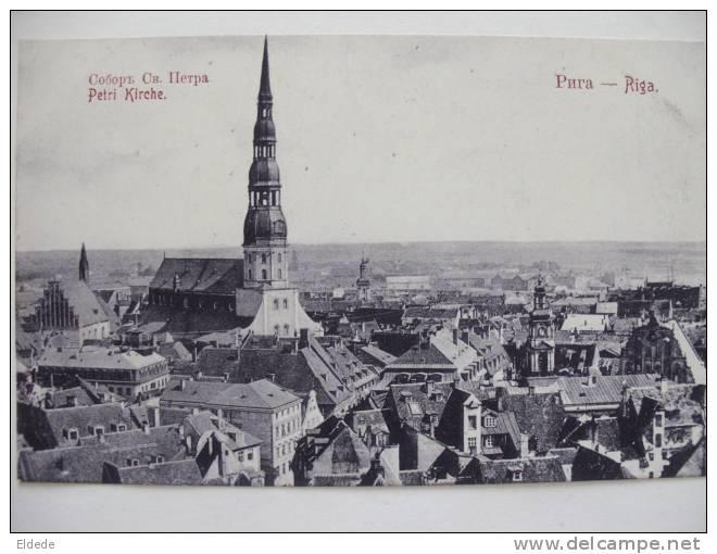 Riga Petri Kirche - Lettonie
