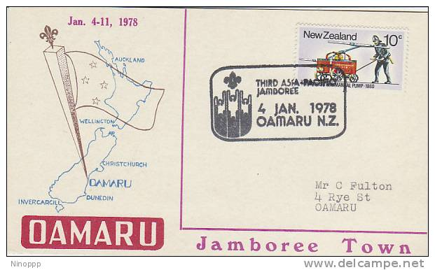 New Zealand-1978 3rd Asia Pacific Jamboree Souvenir Cover - Scouting