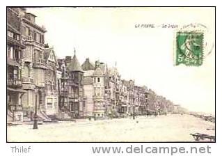La Panne 271:La Digue 1913 - De Panne