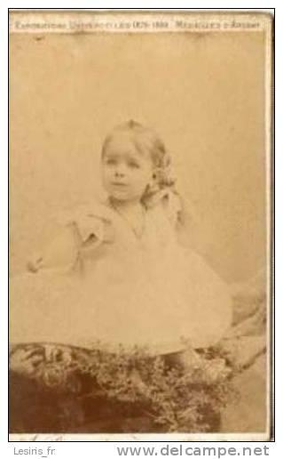 PHOTO - JOLIE FILLETTE - A. PROVOST - TOULOUSE - 29363 - SEPTEMBRE 1893 - EDMOND RENARD - Fotos