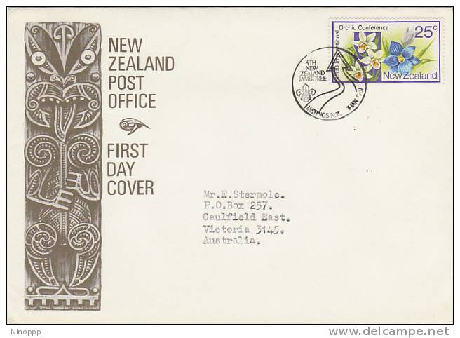 New Zealand-1981 9th New Zealand Jamboree On Cover Sent To Australia - Scouting