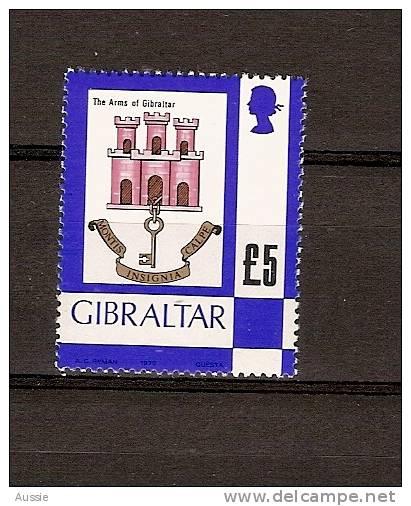 Gibraltar 1979 Yvertnr. 396 *** MNH Cote 22,50 Euro Armoiries Wapenschilden - Gibraltar