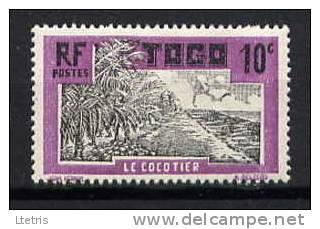 TOGO - N° 128* - LE COCOTIER - Togo (1914-1960)
