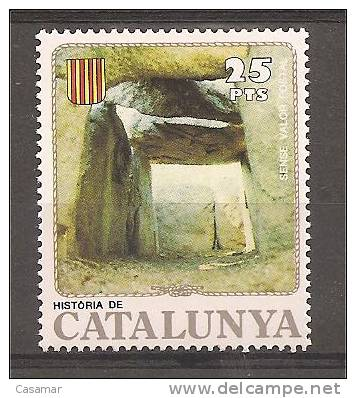 DOLMEN Megalito Cueva Daina Cave  Neolithic Neolithique Prehistoire Prehistory Poster Stamp Vignette - Preistoria