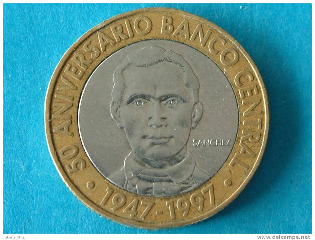 5 PESOS 1997 /  KM 88 ! - Dominicana