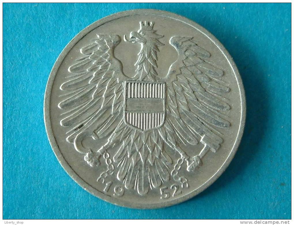 1 SCHILLING 1952 /  KM 2871 ! - Autriche