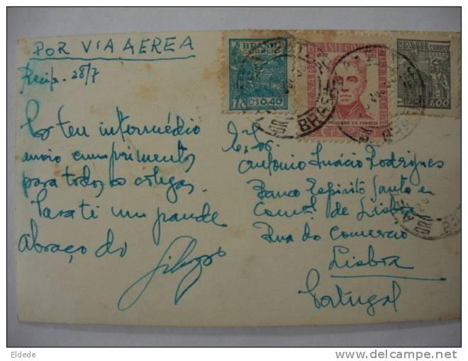Recife Pernambuco Ponte Duarte Coelho Pub Rolex Rolex Swatches  Postally Used 3 Stamps - Recife