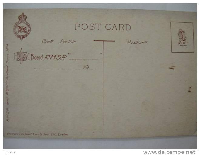 Recife Pernambuco Estacao Central  R.M.S.P. Royal Mail Steam Packet Co.  Paquebot Tuck  4 - Recife