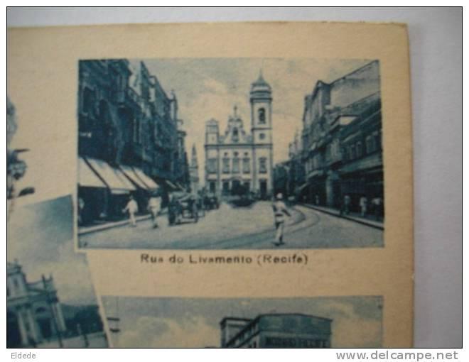 Recife Pernambuco Lembrancas  Rua Do Livamento Postcard Club R.E.C.P. - Recife