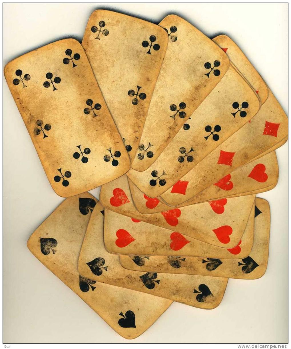 Le carte da gioco: materiali e segni diversi