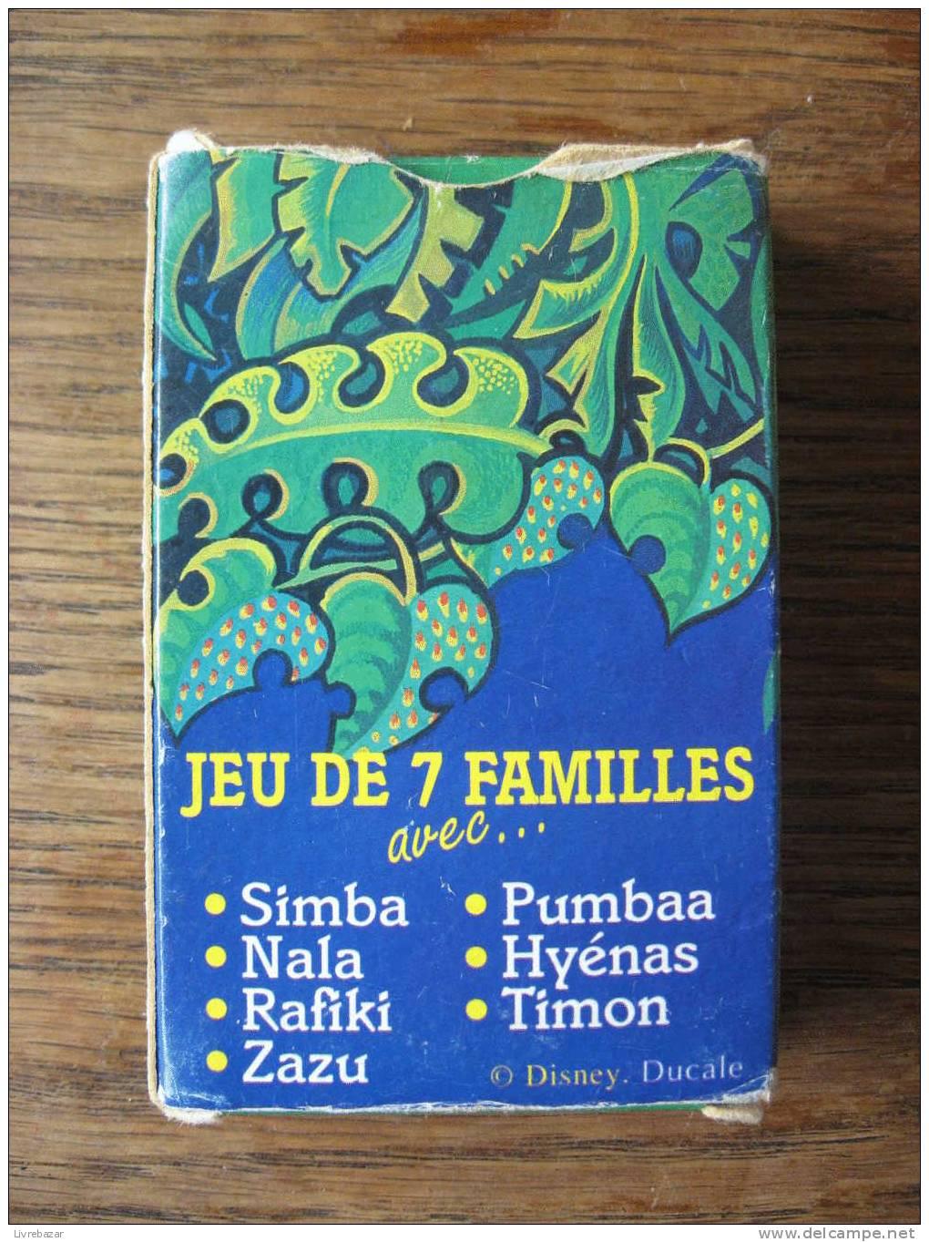 JEU DES 7 FAMILLES  LE ROI LION DUCALE - Other Collections