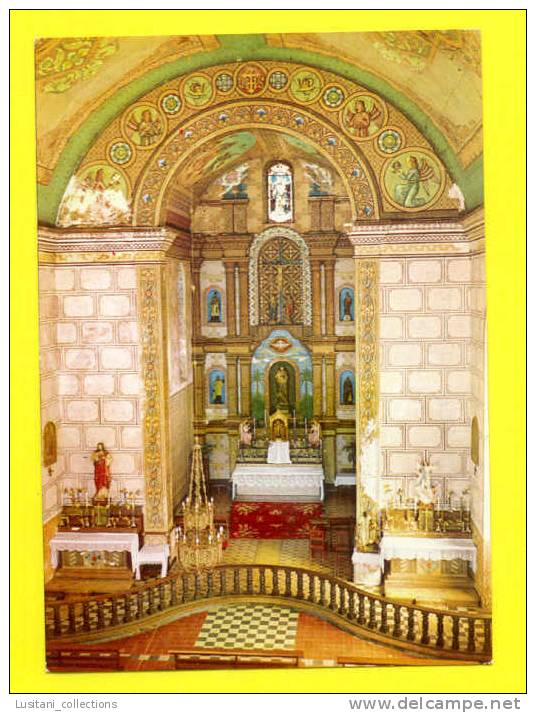 POSTCARD AFRIQUE AFRICA MOZAMBIQUE BOROMA CHURCH 1960s MOÇAMBIQUE AFRIKA AFRIQUE - Mozambique
