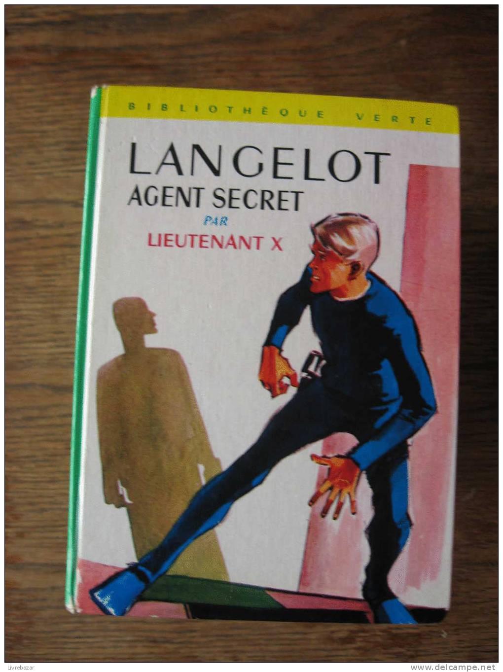 LANGELOT AGENT SECRET - Bibliotheque Verte