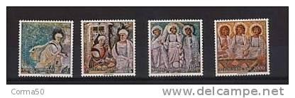 Vaticano 1990 Caritas La Serie Cpl. 4 Valori Nuovi** - Nuovi