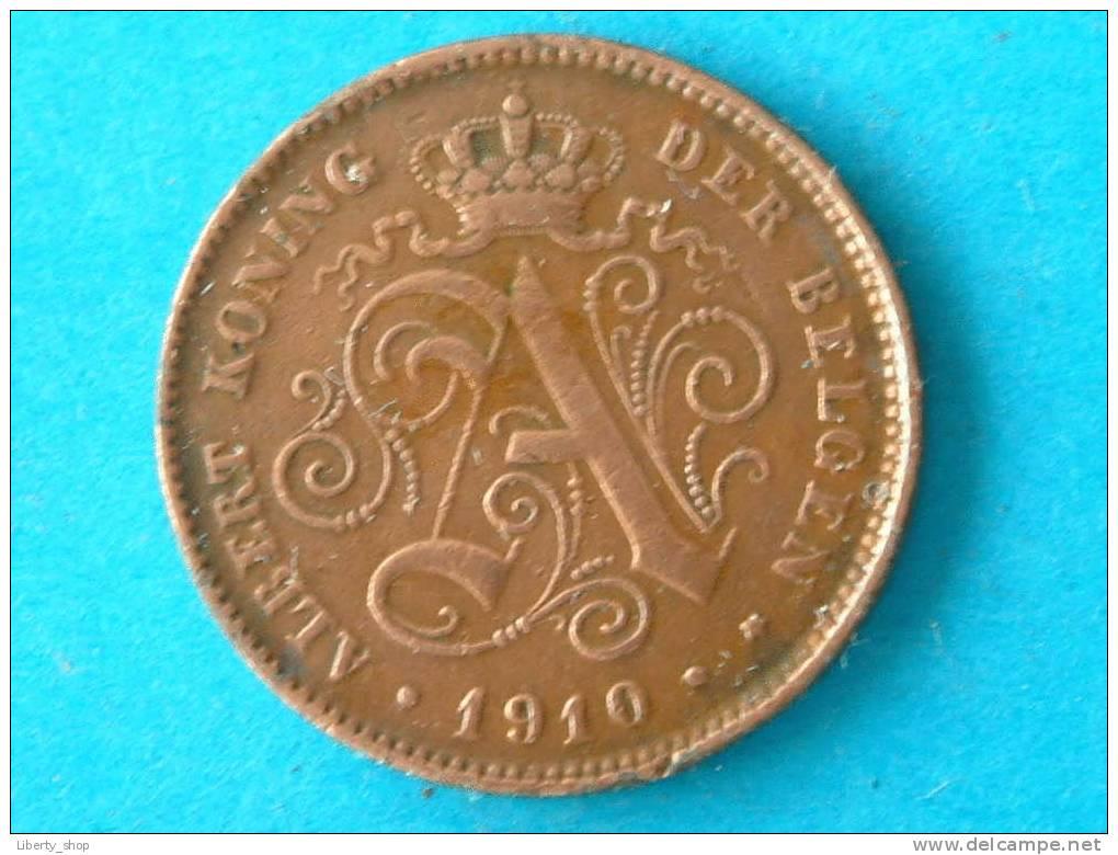 1910 VL - 2 CENT - VF ! - 1909-1934: Albert I