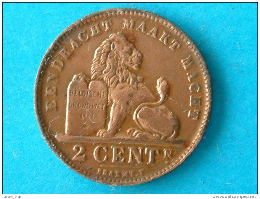 1910 VL - 2 CENT - VF ! - 02. 2 Centimes