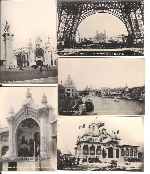 EXPOSITION 1900 A SAISIR  COLLECTION FELIX POTAIN 48 PHOTO  PRIX EN BAISSE - Expositions