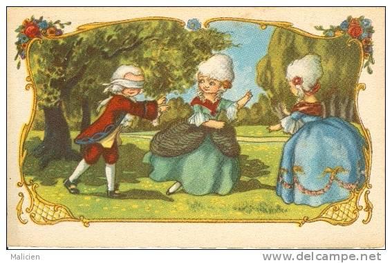 ILLUSTRATEURS-ref  177- Jeux D Enfants - Cache Cache   -carte Bon Etat - - Illustrateurs & Photographes