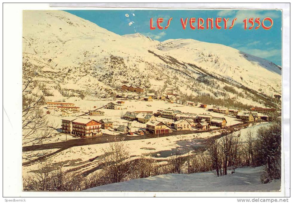 14982 Valloire Les Verneys Vue Générale . 348 Grange - Non Classés