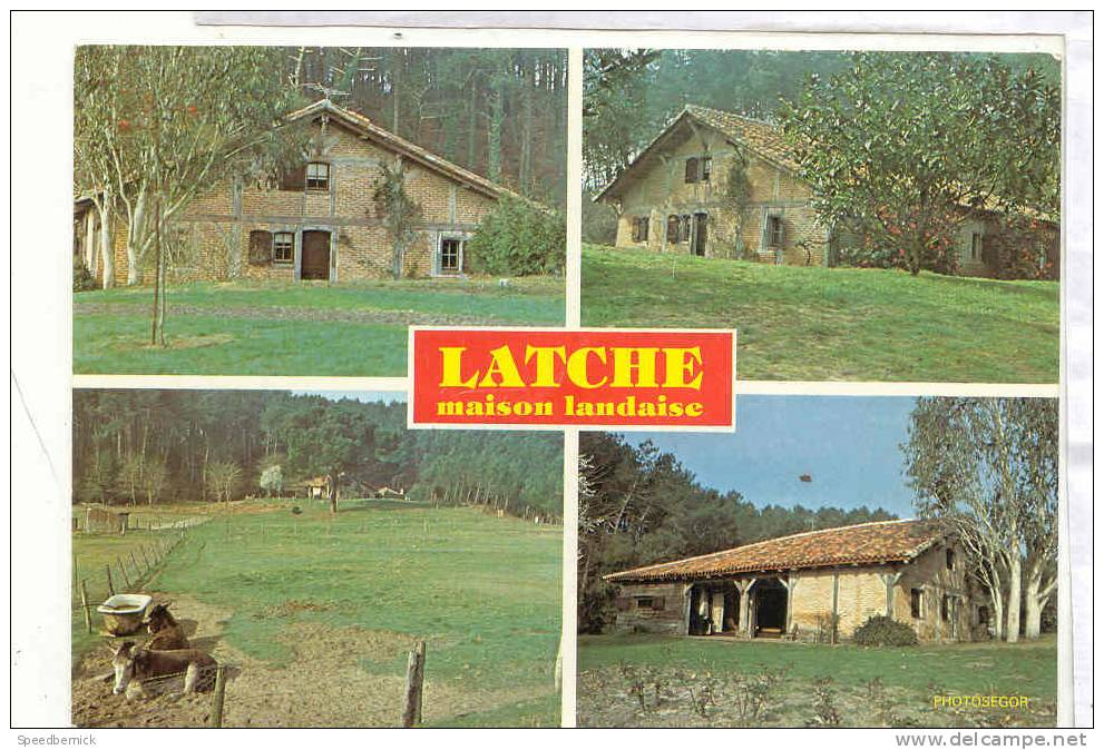 14921 Latche Maison Landaise . Photosegor . - Non Classés