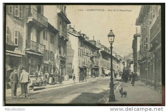 73 ALBERTVILLE   Rue De La République - Albertville